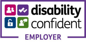 Disability Confident commited logo