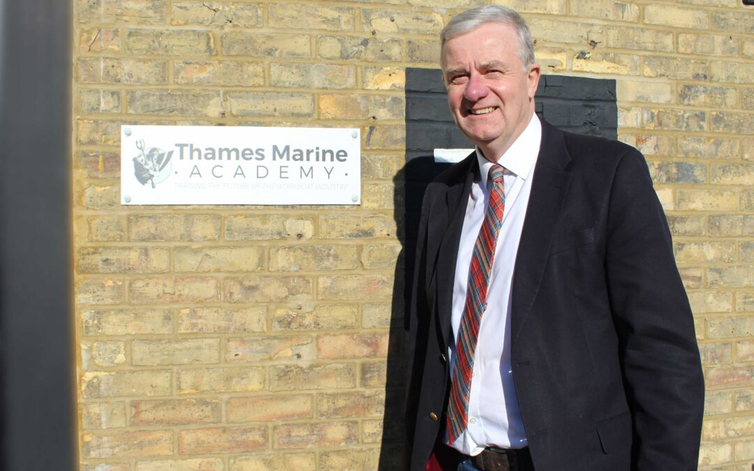 How TAQA Level 3 has helped GPS Marine set up the Thames Marine Academy