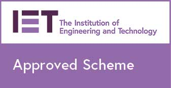IET Approved Scheme Badge